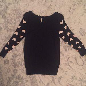 LC Lauren Conrad Sweaters - LC Lauren Conrad Heart Sweater